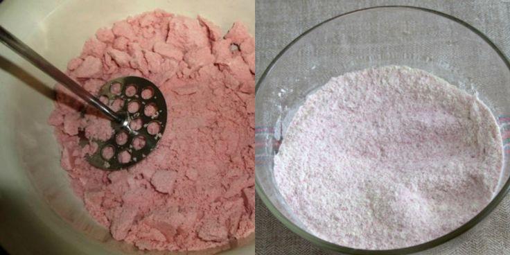 Вот что получается из обычного брикета киселя