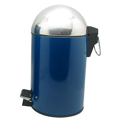 1000 images about bathroom accessories on pinterest 2nd for Blue bathroom bin