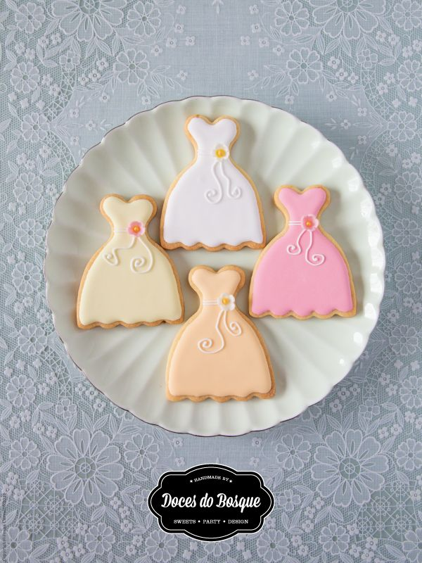 Wedding Cookies by Doces do Bosque