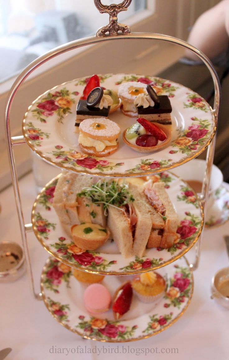 """<3 Traditional """"High Tea"""" Menu Fare . . . We Lived a Decade in Boston / Cambridge / Central Massachusetts, Our Many Favorite Afternoon Trips were to the Local Hotels Serving """"High Tea"""" . . .Scrumptious Scones <3"""