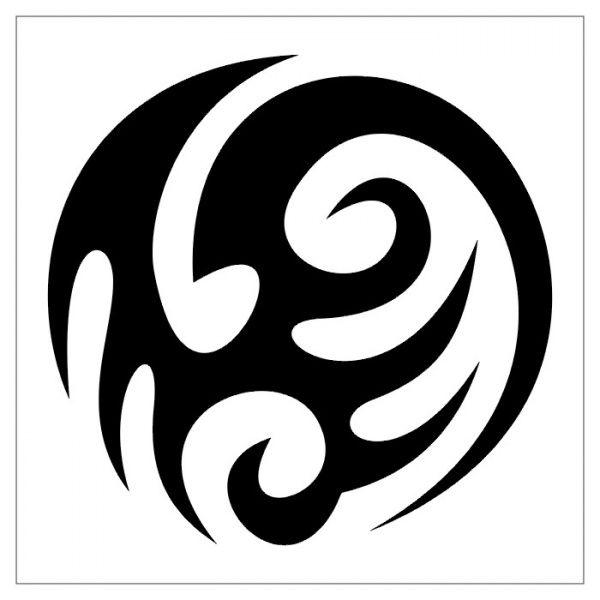 Татуировки - черно-белые фотографии, картинки тату-47