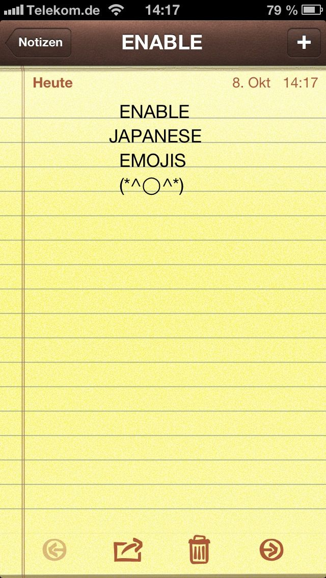 How to Enable Japanese Emojis on iPhone (*^^*)