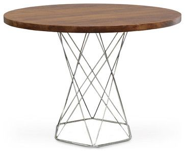 Stockholm Round Dining Table - modern - Dining Tables - Zinc Door
