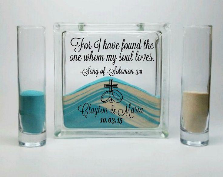 Wedding Unity Sand Set - Song Of Solomon