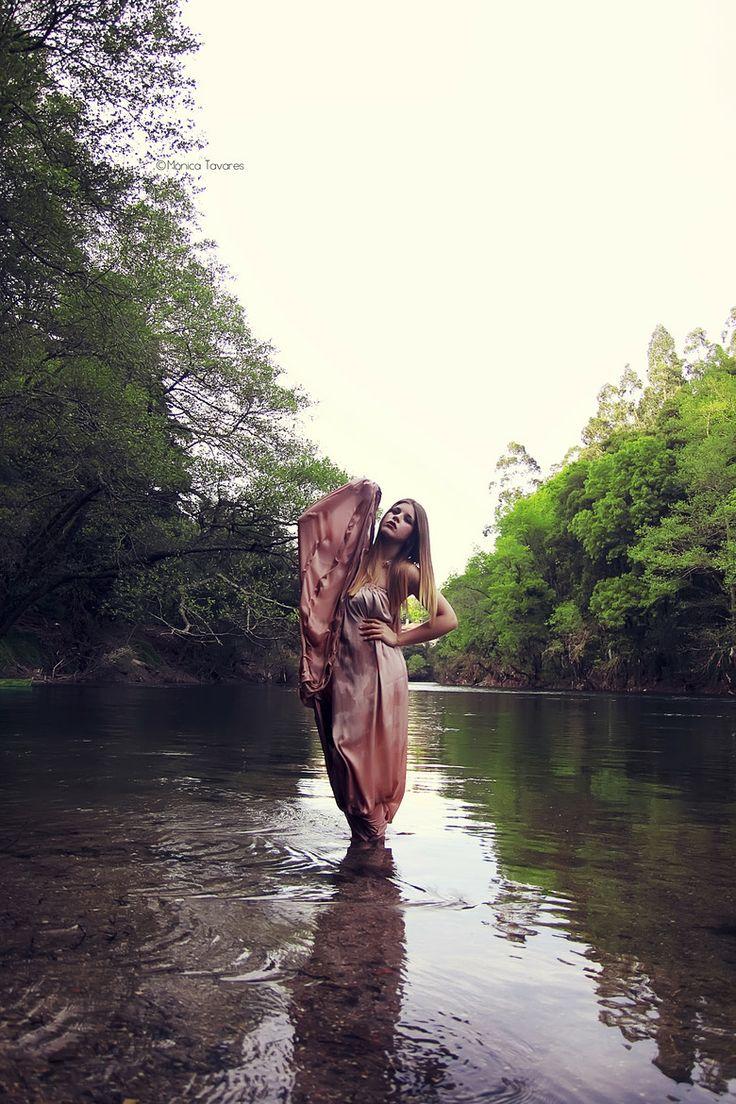 Model Waterfall Portrait Waterfall Shoot Pinterest