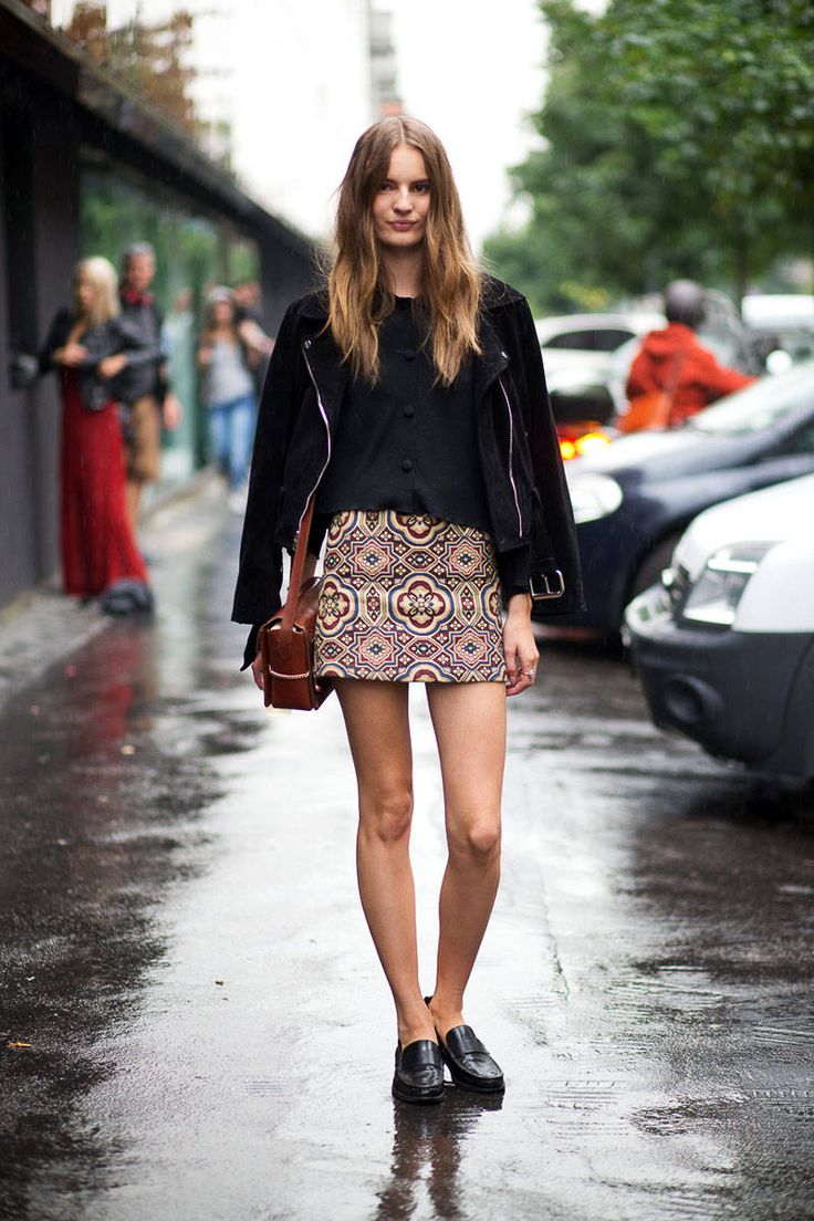 Street Style - Milan Fashion Week Street Style Spring 2015 - Shop our SCAROSSO loafers here -> http://scaros.so/1CfRRcQ