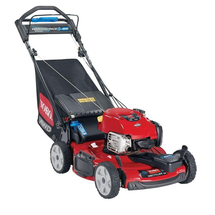 Toro Recycler 22 in. All-Wheel Drive Personal Pace Variable Speed Self-Propelled Gas Lawn Mower with Briggs