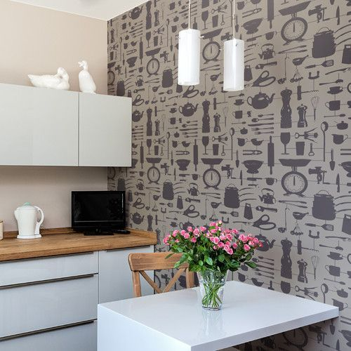 We Love This Delightful Kitchen Inspired #wallpaper By The Graduate  Collection.