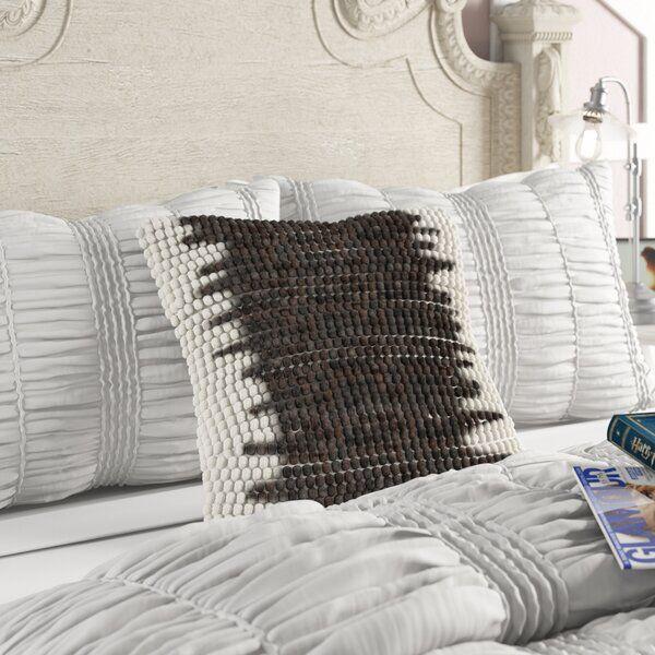 Ellijay Square Cotton Throw Pillow Throw Pillows Pillows Cotton Throw Pillow