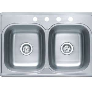 33x22 Stainless Steel Sink : 33x22 8