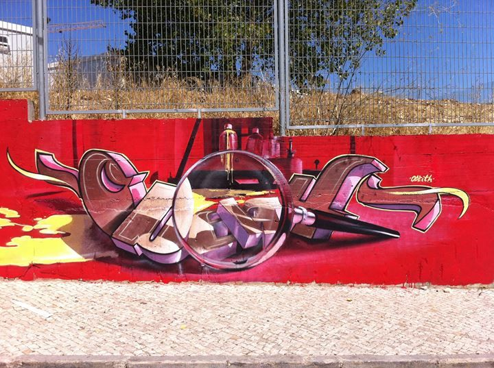 Best ODEITH Images On Pinterest Lisbon Portugal Street Art - Incredible forced perspective graffiti artist odeith