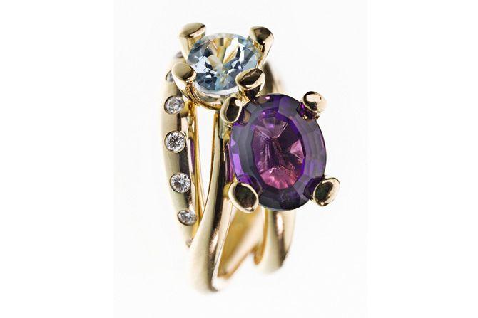 #AllIWantForChristmas #MilasJewellery #gemstone #ringstack #diamant #diamantring #diamond #diamondring #samlering