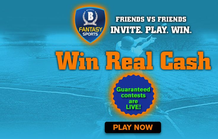 You need not play a long major league, play daily and win real cash prizes. You can challenge your friends and win their money! Select a contest based on Sport, Contest Type, Entry Fee, Prize Pool, Number of Entries or Start Time. Create your own line-up per the salary cap/budget limit allocated. Enter the contest and win cash prizes.