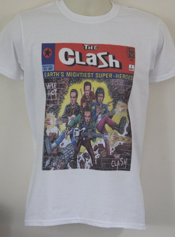 The Clash T-Shirt Post Punk Retro Vintage Band T-Shirt Buzzcocks