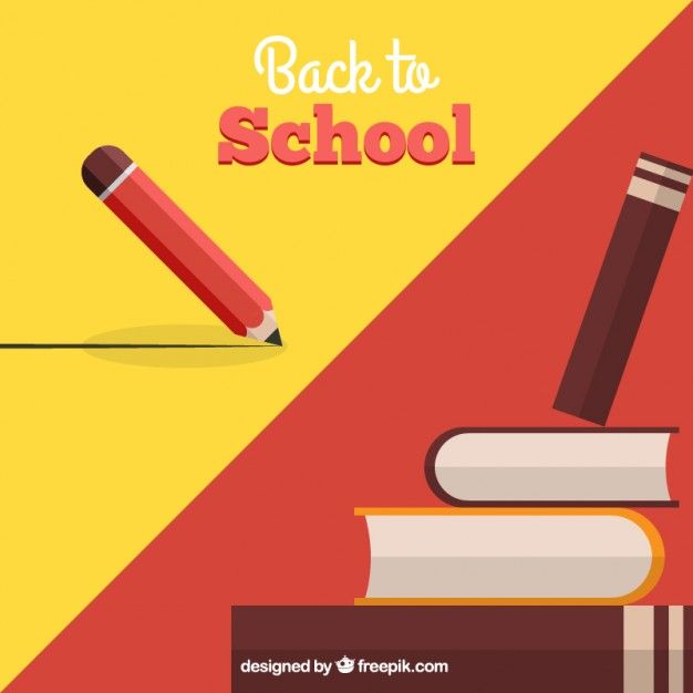 Free vector Back to school background #20052