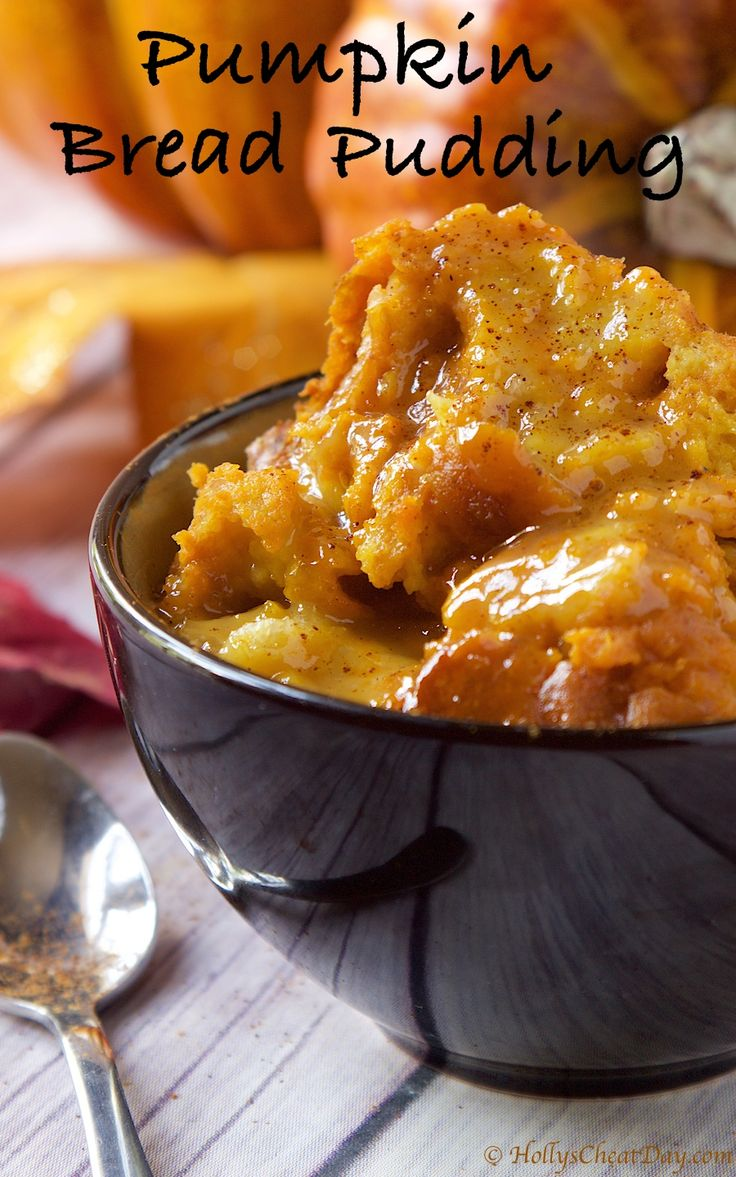 crockpot-pumpkin-bread-pudding | hollyscheatday-com