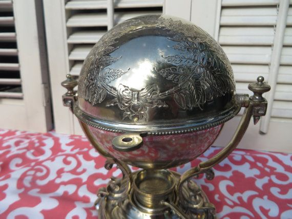 Antique Silver Egg Coddler Egg Warmer By Threebrevival On