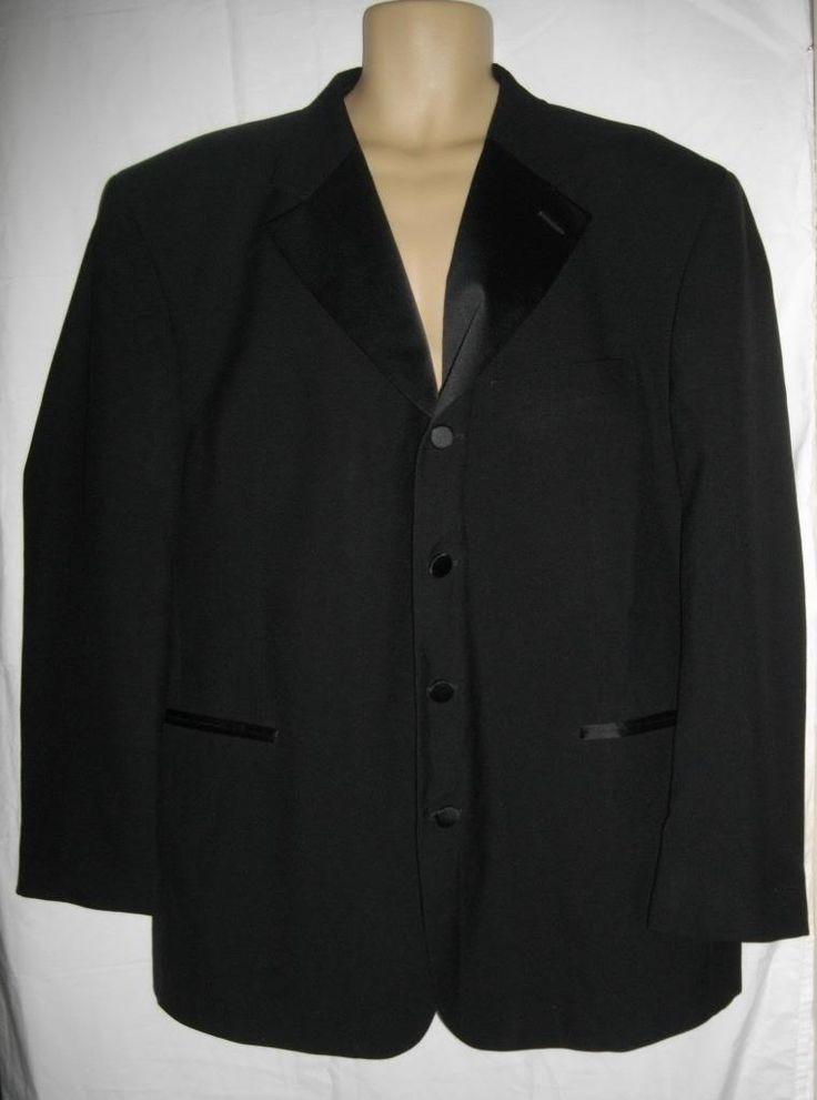Black Jean Yves Tuxedo Jacket 50r.