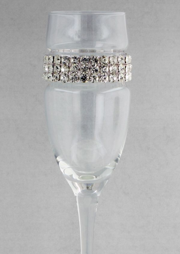 ALL ABOUT HONEYMOONS specializes in Honeymoon & Destination Wedding planning. For more info go to: www.cori.allabouthoneymoons.com. Become our FAN on Facebook: https://www.facebook.com/AAHsf    Bling Champagne Flutes