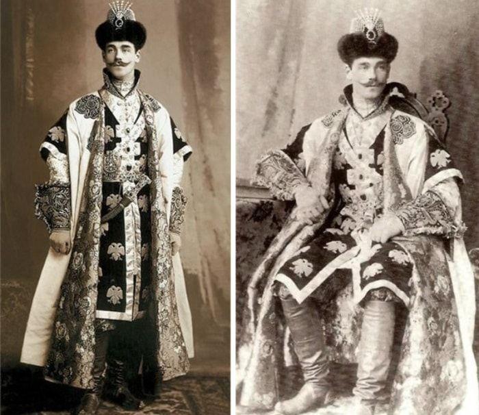 Великий князь Михаил Александрович на  костюмированном балу в Зимнем Дворце, 1903   Фото: liveinternet.ru