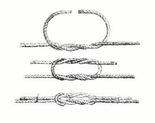 Двойной прямой узел
