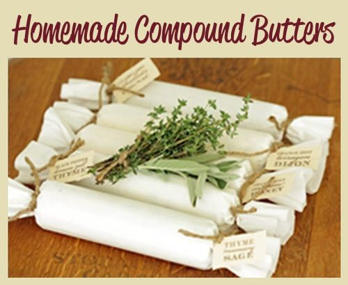 Homemade Compound Butters - DIY Gift World