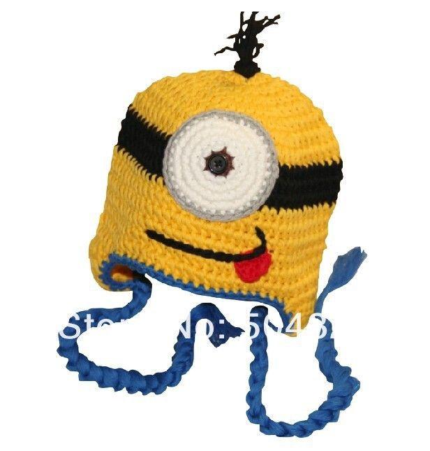 Купить Бесплатная доставка 1 шт. гадкий я вязаная шапка / плетение миньон шляпа ( Adul и малыш размер )и другие товары категории Шапки и кепкив магазине GEEK TMнаAliExpress. дети дерби шляпы и шляпу чистой