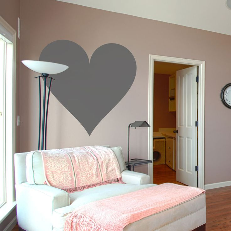 I Love Big Clean Hearts This Wall Decal Would Be Fun For