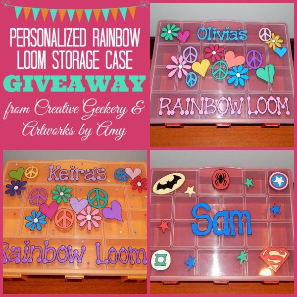 Rainbow Loom Storage Case Giveaway