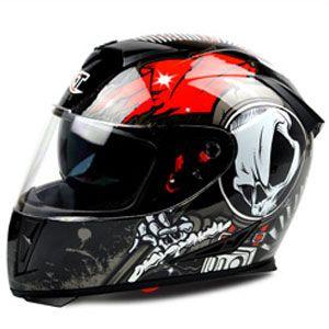 Mũ bảo hiểm fullface GXT 2016 tem đen đỏ