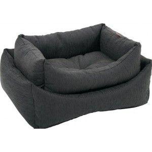 Corbeille pour chien sofa CASTLE gris ou rouge - Zolux