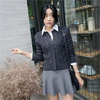 Buy 'snfeel – Cable-Knit Cardigan' with Free International Shipping at YesStyle.com. Browse and shop for thousands of Asian fashion items from South Korea and more!