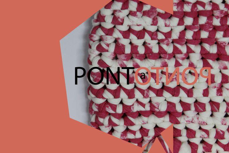 Ponto a Ponto | Padrão Rosa # Branco   Para mais informações vá a https://www.facebook.com/pontoapontobags :)