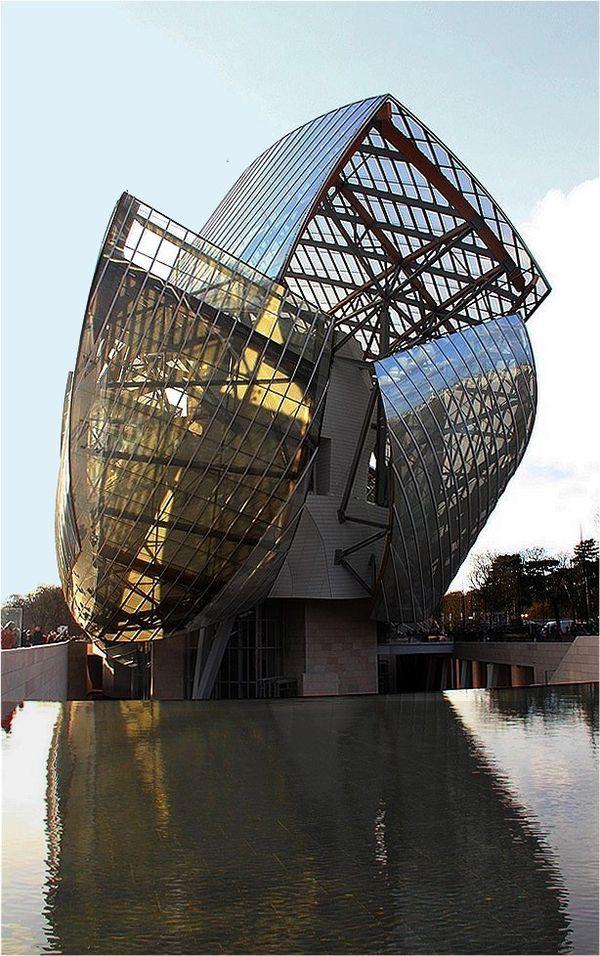 La fondation Louis Vuitton. Paris