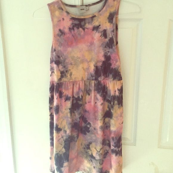 Tye dye Asos dress SALE Asos tye dye dress in good condition! ASOS Dresses Mini