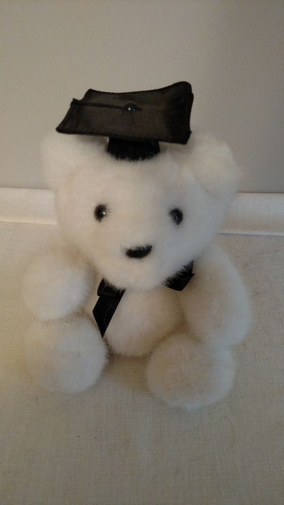 Hallmark Cards Graduation Bear White #Hallmark