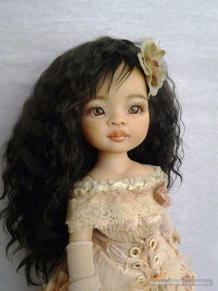 Моя нежная Лиу...ООАК куклы Paola Reina / Изготовление авторских кукол своими руками, ООАК / Бэйбики. Куклы фото. Одежда для кукол