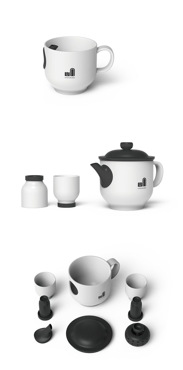 "The ""Unbreakable"" tea set integrates past and contemporary tea making into an entirely new tea experience! Read more at Yanko Design"