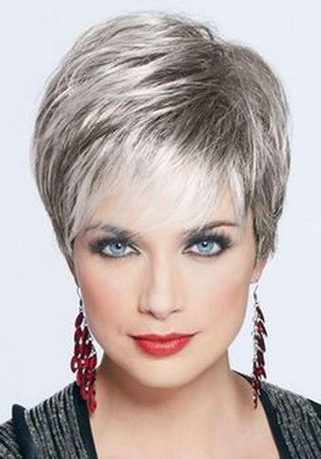 Risultati immagini per capelli grigi corti
