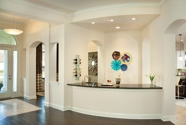 The wall paint is Sherwin Williams 6140 Moderate White, ceiling paint is Sherwin Williams 7005 Pure White, and the trim color is Sherwin Williams 7008 Alabaster.St. Augustine 1123 - Arthur Rutenberg Homes