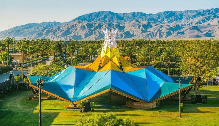 As melhores Instalações de arte e arquitetura do Coachella 2017