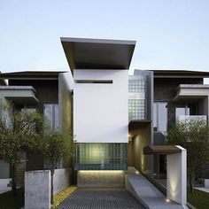 """""""5m wide house, kelapa gading 2009 #house #housedesign #archdaily #architizer…"""