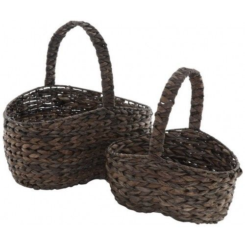 Banana Leaf Baskets with Handles - Set of Two £49.99