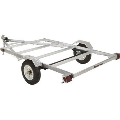 FREE SHIPPING — Ultra-Tow 5ft. x 8ft. Aluminum Utility Trailer Kit — 1715-Lb. Load Capacity