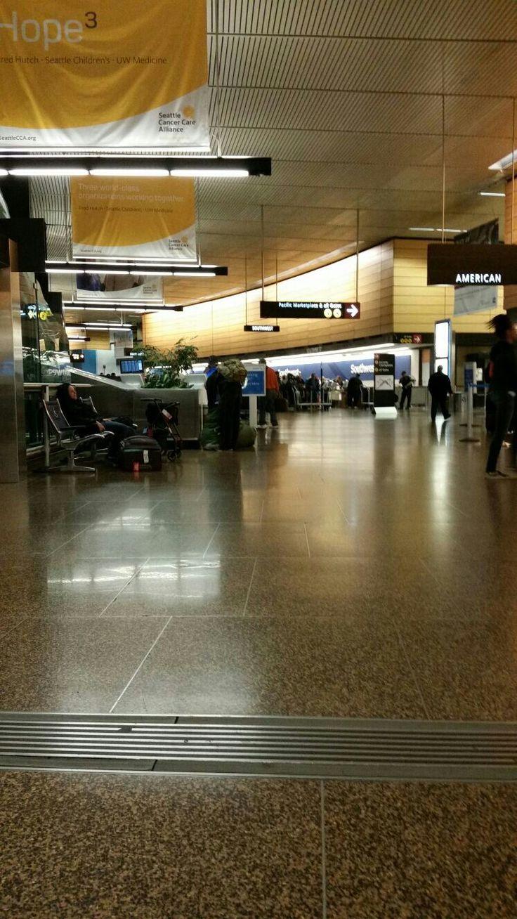 Jeng Puli on Airport Seattle