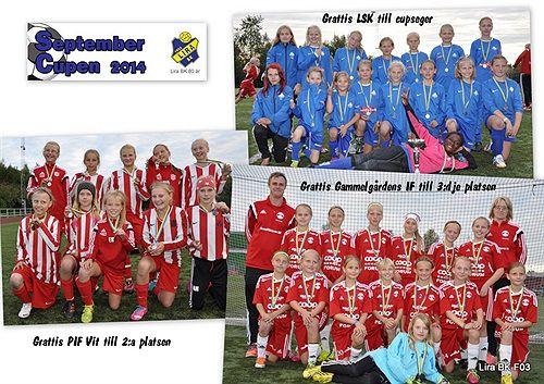 F03 cup / Lira BK - Septembercupen - Svenskalag.se