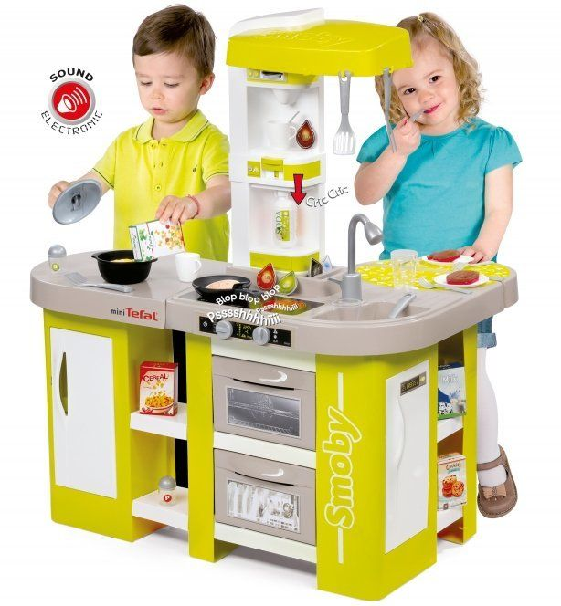Smoby Tefal Cuisine Studio Xl Children S Toy Kitchen Toy Kitchen