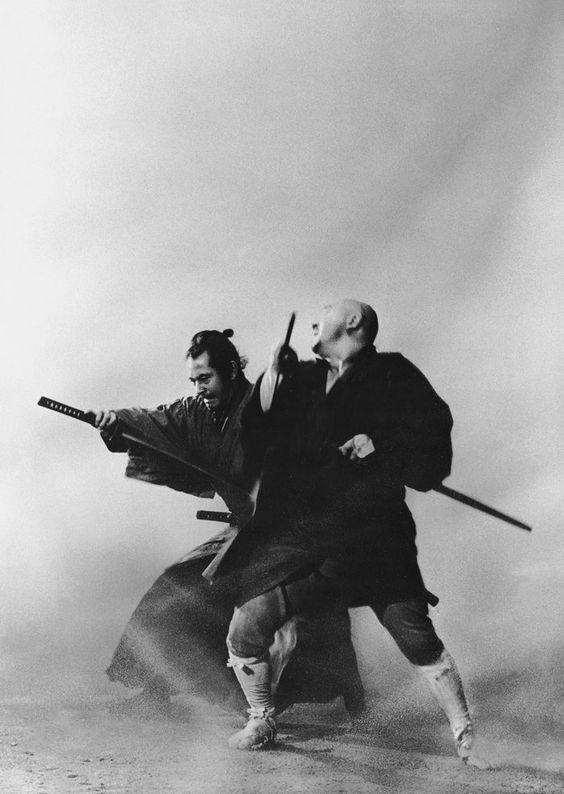Toshiro Mifune in Yojimbo  (Akira Kurosawa, 1961):