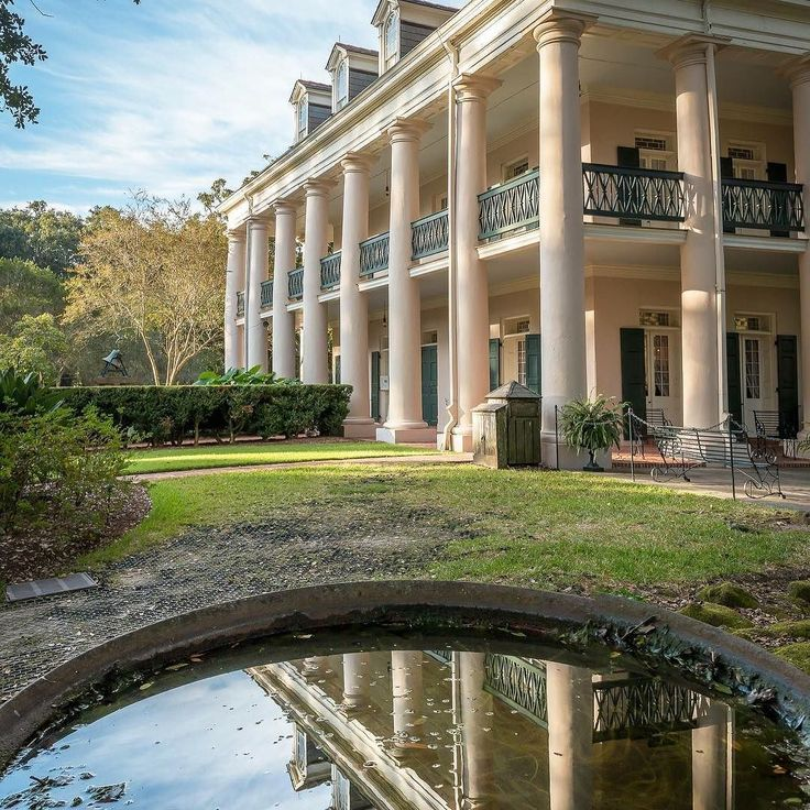 Ursula Noircent took this incredible photograph of Oak Alley Plantation's Big House! #OakAlley