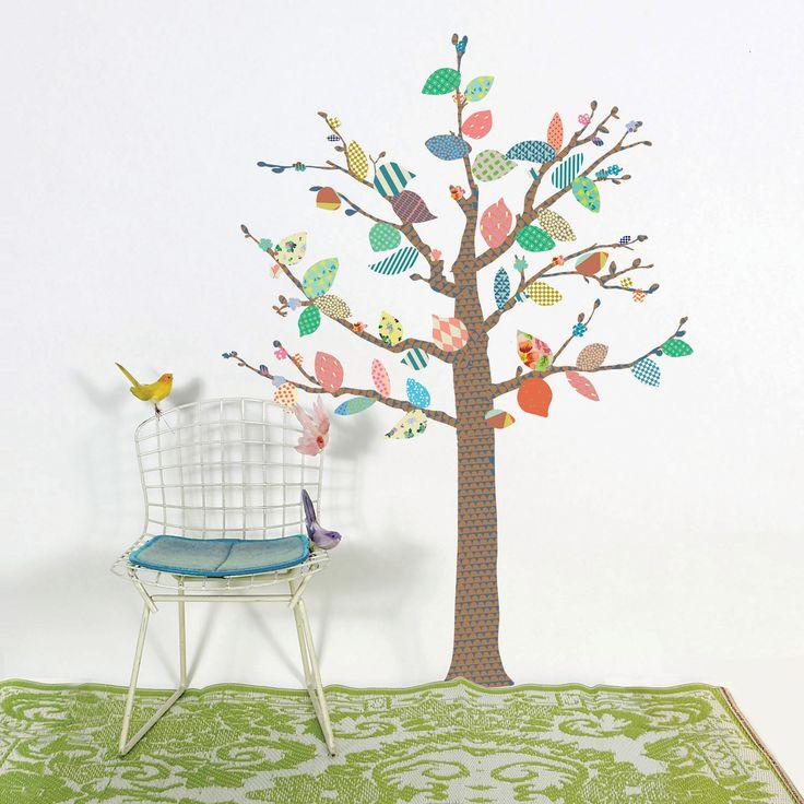 17 meilleures id es propos de stickers muraux arbre sur pinterest autocollants d 39 arbre. Black Bedroom Furniture Sets. Home Design Ideas